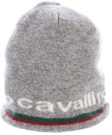 Roberto Cavalli Boys' Knit Logo Beanie