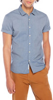Scotch & Soda Short Sleeve Herringbone Shirt