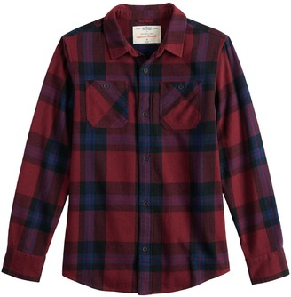 Boys 8-20 Urban Pipeline Flannel Button-Down Shirt