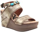 OTBT Women's Sandals GOLD - Gold Layover Leather Sandal - Women