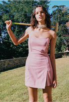 Finders Keepers LOTTIE MINI DRESS pink