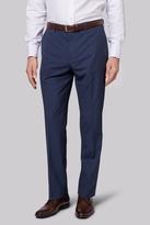 Moss Esq. Regular Fit Blue Speckle Pants