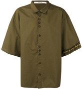 Damir Doma three-quarters sleeve oversized shirt - men - Cotton - M