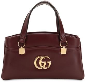 Gucci Arli Smooth Leather Top Handle Bag