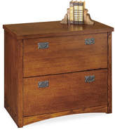 kathy ireland Home by Martin Furniture Mission Pasadena 2-Drawer Lateral File Cabinet