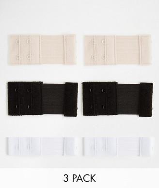 Fashion Forms 2 hook bra extenders-Multi