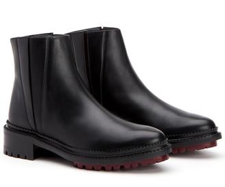 Aquatalia Orla Weatherproof Leather Bootie