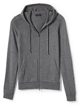 Classic Men's Wool Blend Sweater Sleep Hoodie-Warm Stone Heather