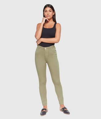 Lola Jeans Women's Plus Size High-Rise Skinny