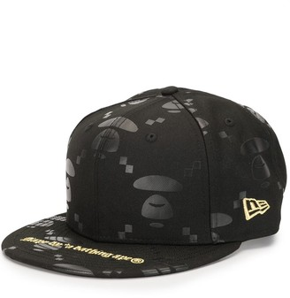 Aape By *A Bathing Ape® New Era Planet Earth printed cap