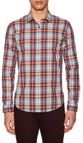 Vince Multi Plaid Shirt