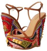DSQUARED2 Jeweled Wedge Sandal