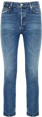 Citizens of Humanity Olivia Blue Slim-leg Jeans
