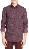 Ben Sherman Men's Multicolored Paisley Sport Shirt