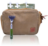 Ernest Supplies Men's Convertible Toiletry Kit Brown