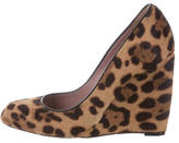 Gucci Ponyhair Leopard Wedges