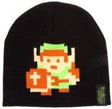Nintendo Official Legend of Zelda 8-Bit Link Pixel Design Beanie Winter Hat Cap