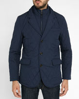 Hackett Navy MYF Removable Membrane Quilted Jacket
