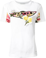 Coach floral embroidered T-shirt - women - Cotton - XS