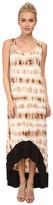 Kensie Tie Dye Grid Dress KS3K7466