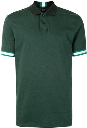 HUGO BOSS Colour-Block Stripe Polo Shirt
