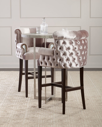 Haute House Eva Mirror Bar Stool