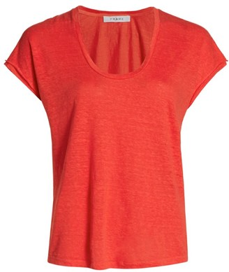 Frame Easy Scoopneck T-Shirt
