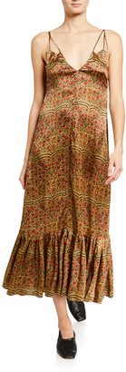 KHAITE Stacy A-Line Dress