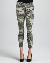TEXTILE Elizabeth and James Cooper Camo Zip-Leg Skinny Jeans
