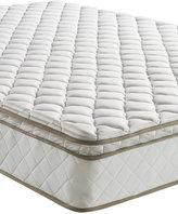 "Sleep Trends Davy King 10"" Wrapped Coil Pillowtop Firm Mattress, Quick Ship, Mattress in a Box"