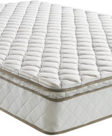 "Sleep Trends Davy Twin 10"" Wrapped Coil Pillowtop Firm Mattress, Quick Ship, Mattress in a Box"