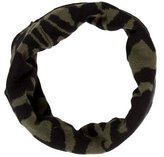 Sandro Bicolor Patterned Snood