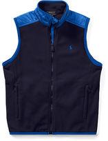 Ralph Lauren 8-20 Fleece Hybrid Vest