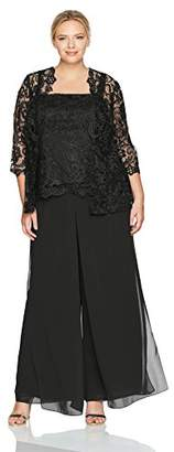 Emma Street Women's Size Lace Suit Combo Plus