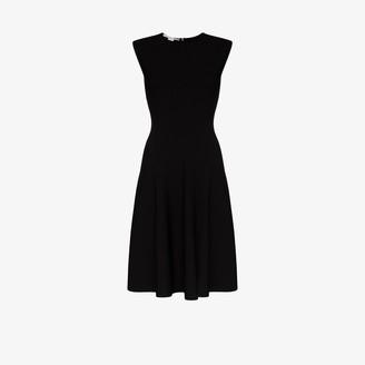 Stella McCartney Compact flared dress