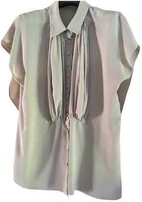 Sonia Rykiel Beige Silk Top for Women