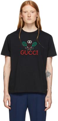 Gucci Black Tennis T-Shirt