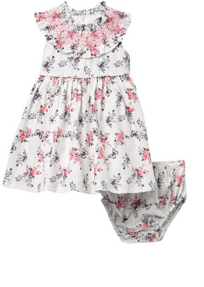Iris & Ivy Sleeveless Print Dress & Bloomers Set