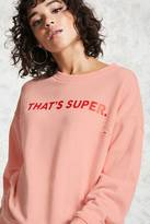 Forever 21 FOREVER 21+ Super Graphic Pullover