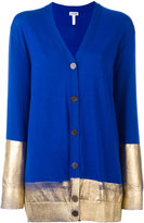 Loewe high shine print cardigan - women - Wool - XXL
