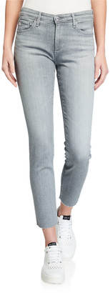 AG Jeans Prima Mid Rise Cigarette Ankle Jeans