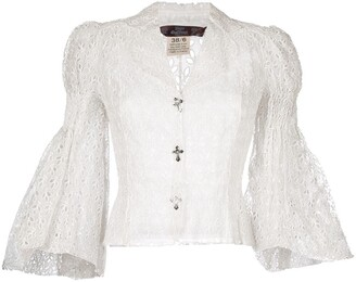 John Galliano Pre-Owned English embroidery blouse