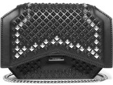 Givenchy Mini Bow Cut Shoulder Bag In Studded Black Leather - one size