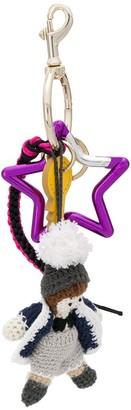 Dolce & Gabbana Winter Star keychain