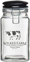 Global Amici Carolina Wilkes Glass Storage Jar - 52 oz.