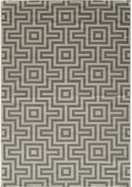 "Momeni Baja Aztec Indoor-Outdoor Area Rug - 5'3""x7'6"""