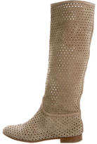 Fratelli Rossetti Perforated Suede Boots