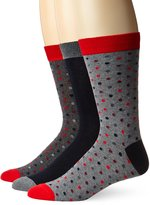 Ben Sherman Men's 3 Pack Conan Crew Socks