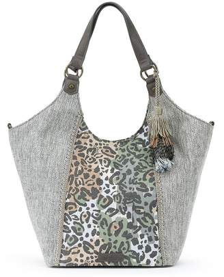 Sakroots Roma Shopper Handbag with Tassel Keychain