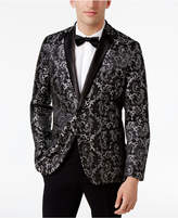 INC International Concepts Men's Slim-Fit Jacquard Blazer, Created for Macy's